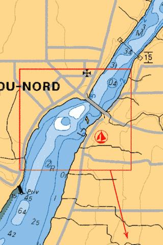NOTRE-DAME-DU-NORD Marine Chart - Nautical Charts App