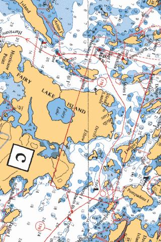 HELLS GATE Marine Chart - Nautical Charts App