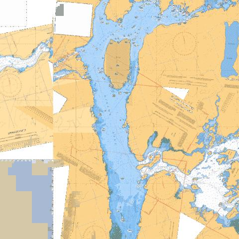 GANNON NARROWS TO/� BOBCAYGEON Marine Chart - Nautical Charts App