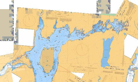 PIGEON LAKE (NORTH PORTION/PARTIE NORD) Marine Chart - Nautical Charts App