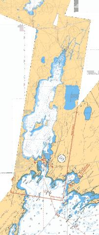 LAKE COUCHICHING - LAKE SIMCOE TO/� COUCHICHING LOCK/L'�CLUSE DE COUCHICHING Marine Chart - Nautical Charts App