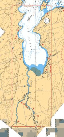 COOK'S BAY AND/ET HOLLAND RIVER Marine Chart - Nautical Charts App