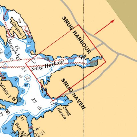 SNUG HARBOUR Marine Chart - Nautical Charts App