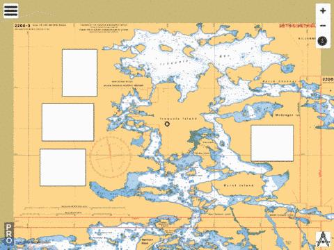 MCGREGOR BAY - 2206-3 Marine Chart - Nautical Charts App
