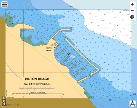 HILTON BEACH Marine Chart - Nautical Charts App