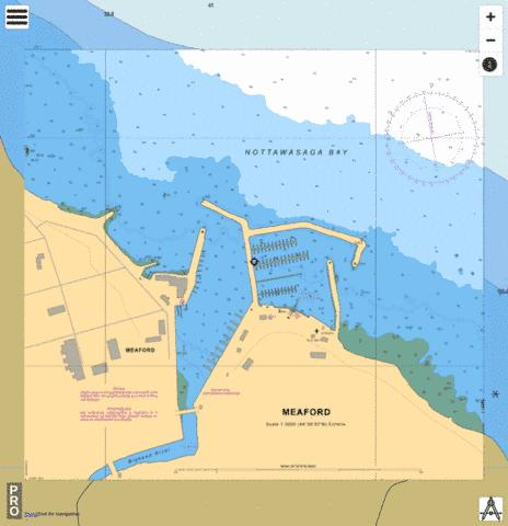 MEAFORD Marine Chart - Nautical Charts App