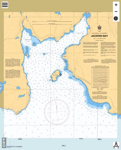 JACKFISH BAY Marine Chart - Nautical Charts App