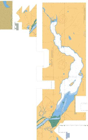 PITT RIVER AND/ET PITT LAKE - PITT LAKE B-C Marine Chart - Nautical Charts App