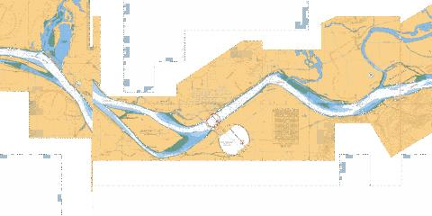 FRASER RIVER/FLEUVE FRASER  CRESCENT ISLAND TO\� HARRISON MILLS Marine Chart - Nautical Charts App