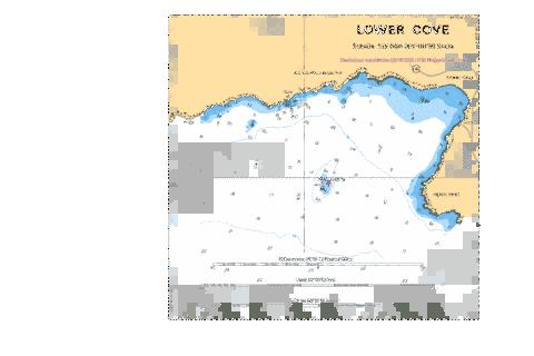 LOWER COVE Marine Chart - Nautical Charts App