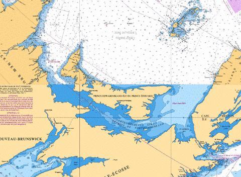 water depth charts canada georgian bay baie georgienne