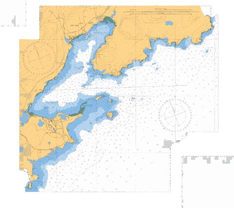 LOUISBOURG HARBOUR,NU Marine Chart - Nautical Charts App