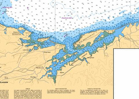MERIGOMISH HARBOUR Marine Chart - Nautical Charts App