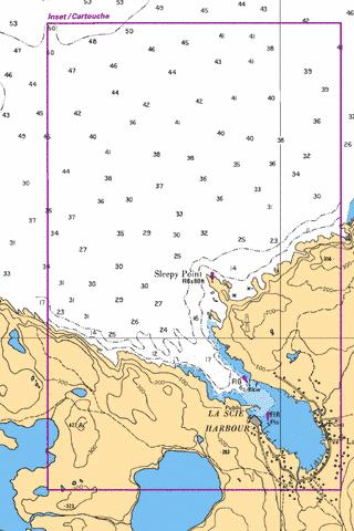 LA SCIE HARBOUR Marine Chart - Nautical Charts App
