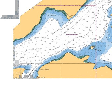 GOUDIES COVE Marine Chart - Nautical Charts App