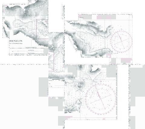 ANCHORAGES IN WHITE BAY MOUILLAGES DANS WHITE BAY Marine Chart - Nautical Charts App