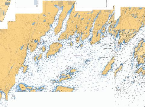 HARBOURS IN PLACENTIA BAY HAVRES DANS PLACENTIA BAY PETIT FORTE TO/� BRO Marine Chart - Nautical Charts App