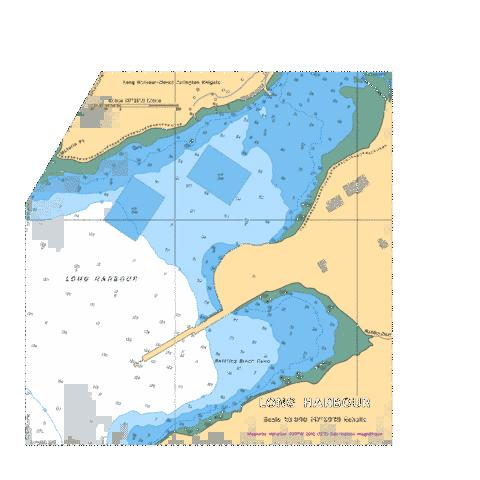 LONG HARBOUR Marine Chart - Nautical Charts App