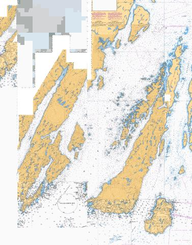 PRESQUE HARBOUR TO/A BAR HAVEN ISLAND AND/ET PARADISE SOUND Marine Chart - Nautical Charts App