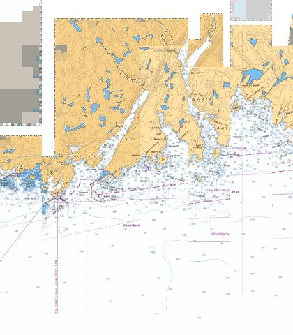 GARIA BAY AND/ET LE MOINE BAY Marine Chart - Nautical Charts App