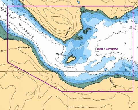 HAWKES HARBOUR Marine Chart - Nautical Charts App