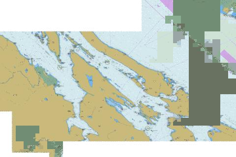 North Pender Island to\a Thetis Island Marine Chart - Nautical Charts App