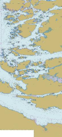 Broughton Strait (Part 2 of 2) Marine Chart - Nautical Charts App