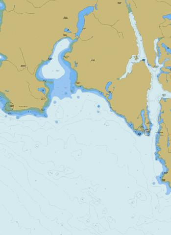 Millar Channel to\a Estevan Point (Part 1 of 2 Western half) Marine Chart - Nautical Charts App