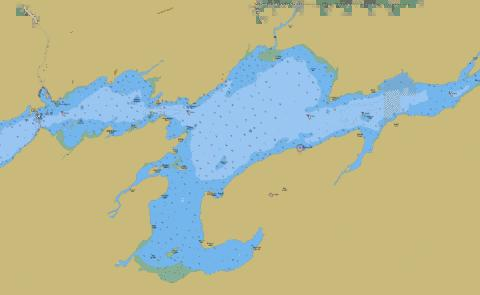 Belleville to\a Telegraph Narrows Marine Chart - Nautical Charts App