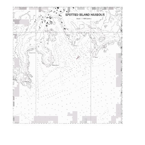 SPOTTED ISLAND HARBOUR Marine Chart - Nautical Charts App