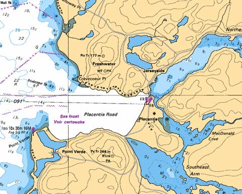 PLACENTIA ROAD Marine Chart - Nautical Charts App