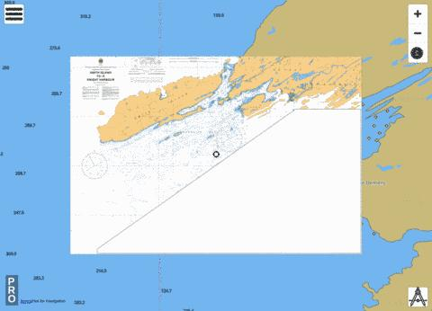 SMITH ISLAND TO/À KNIGHT HARBOUR Marine Chart - Nautical Charts App