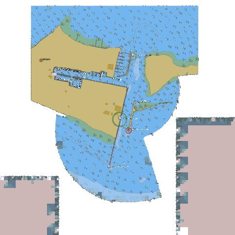 Erieau - Entrance to Rondeau Bay Marine Chart - Nautical Charts App