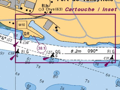Port de Valleyfield Marine Chart - Nautical Charts App