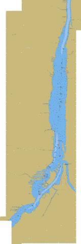 Pointe a la Meule to\a Pointe Naylor Marine Chart - Nautical Charts App