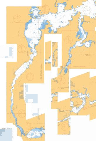 SEVEN SISTERS FALLS TO/� McARTHUR DAM Marine Chart - Nautical Charts App
