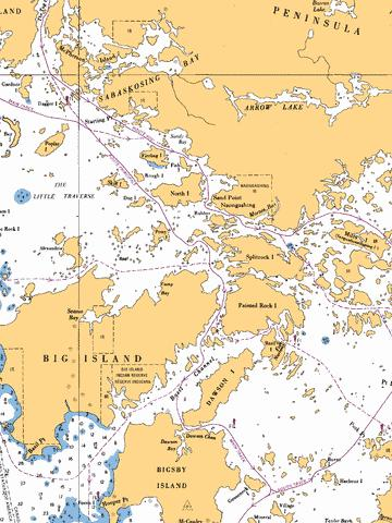 BASIL CHANNEL TO/� STURGEON CHANNEL - 1 Marine Chart - Nautical Charts App