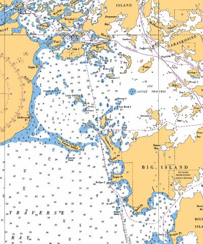 BASIL CHANNEL TO/� STURGEON CHANNEL - 2 Marine Chart - Nautical Charts App