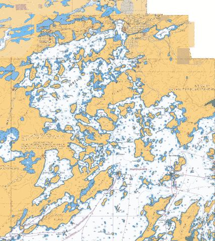 KENORA  RAT PORTAGE BAY Marine Chart - Nautical Charts App