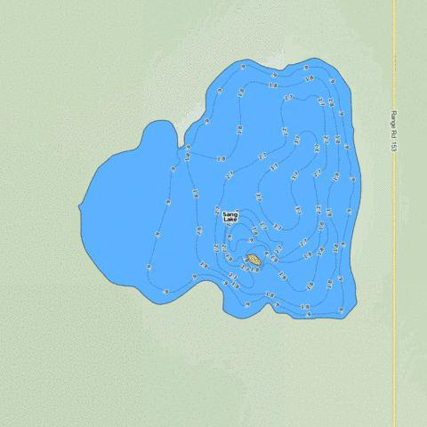 Sang Lake Fishing Map - i-Boating App
