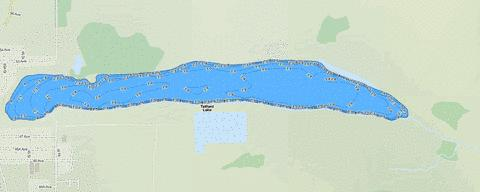 Telford Lake Fishing Map - i-Boating App