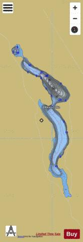 Alexis Lake Fishing Map - i-Boating App