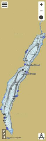 Chehalis Lake Fishing Map - i-Boating App