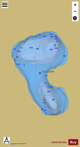 Herman Lake Fishing Map - i-Boating App