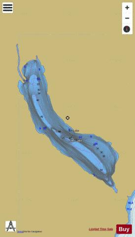 Ikt Lake Fishing Map - i-Boating App