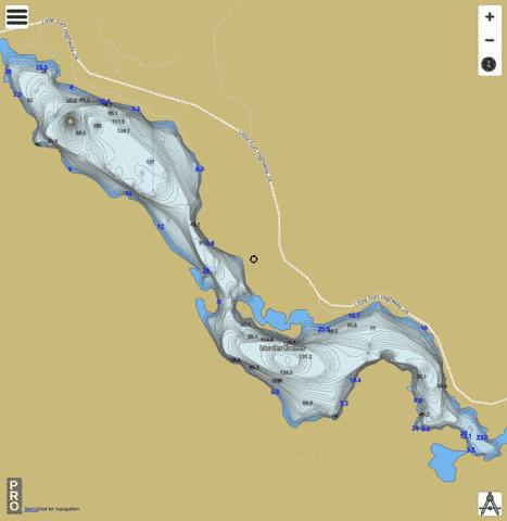 Lac Des Roches Fishing Map I Boating