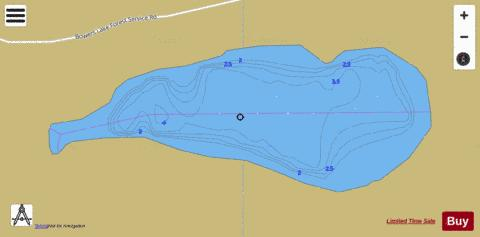 Lynx Lake Fishing Map - i-Boating App