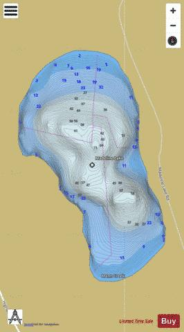 Spallumcheen Lake (Madeline #1) Fishing Map - i-Boating App