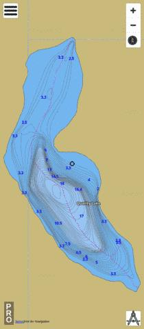 Quality Lake Fishing Map - i-Boating App