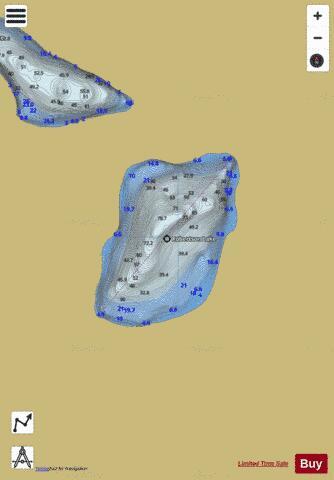 whitestone lake fishing map Robertson Lake Fishing Map Ca Bc Robertson Lake Bc Nautical Charts App whitestone lake fishing map